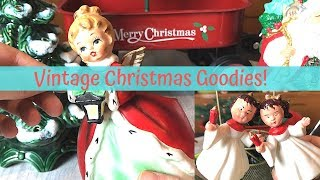 Vintage Christmas Thrift Store Finds | Goodwill Thrift Haul | Nesting Haven