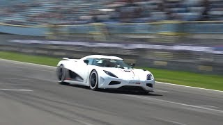 $2.5 Million Koenigsegg Agera R - FLATOUT ON TRACK!