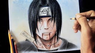 Como dibujar a Itachi  Uchiha (Muerte)| How To Draw Itachi Uchiha (Dead) | Akatsuki | Esteban Art