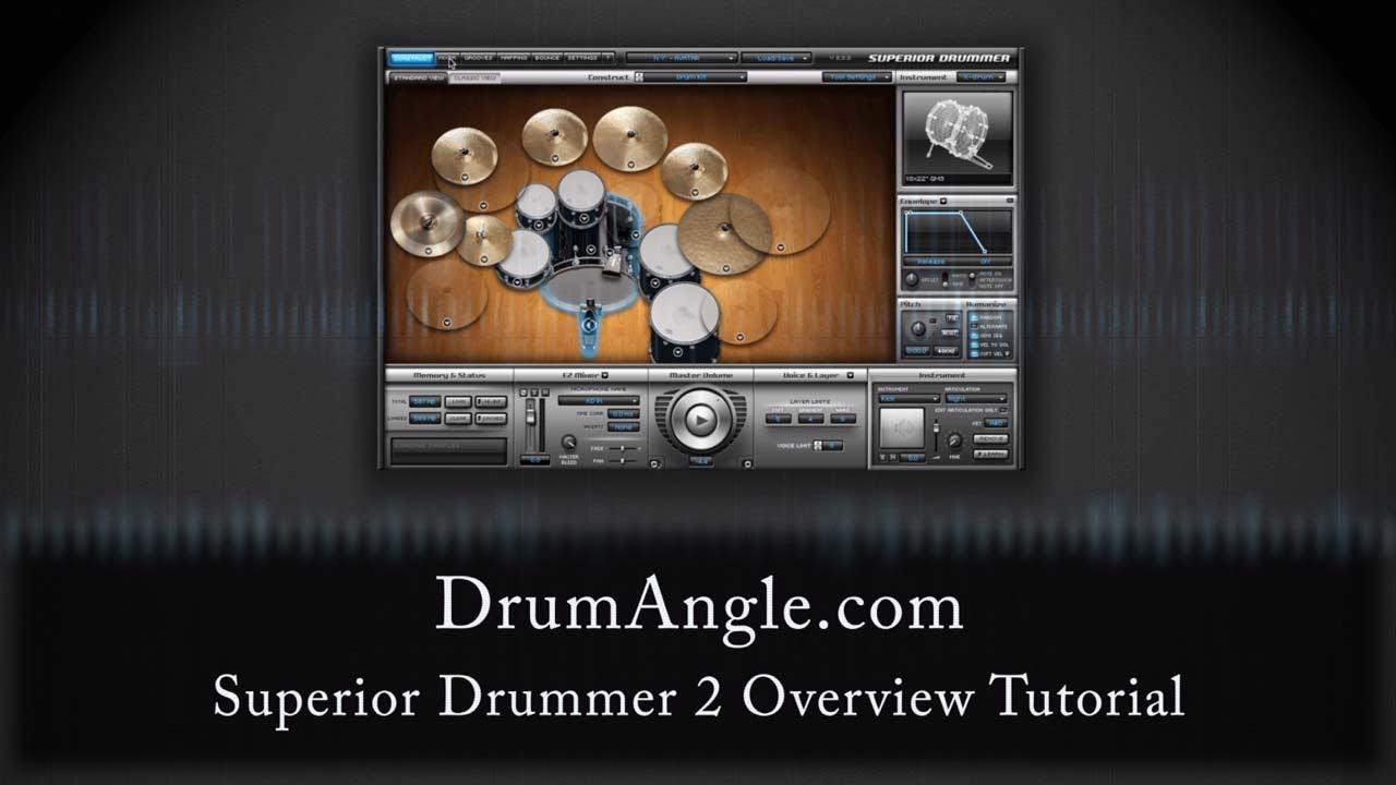 Superior drummer 2. 0 tutorial in logic 8 youtube.