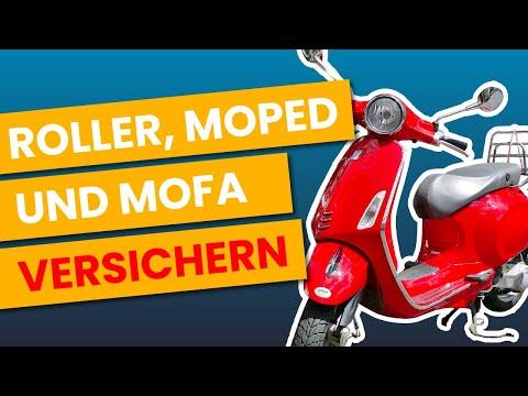 Roller Mofa Moped   KENNZEICHEN & VERSICHERUNG   EINFACH Erklärt