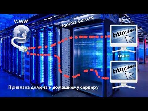 Привязка домена к домашнему серверу