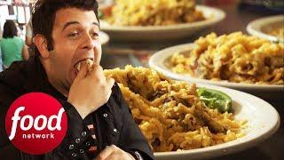 Adam Struggles To Eat His Way Through 8 Massive Don Juan Tacos | Man v Food