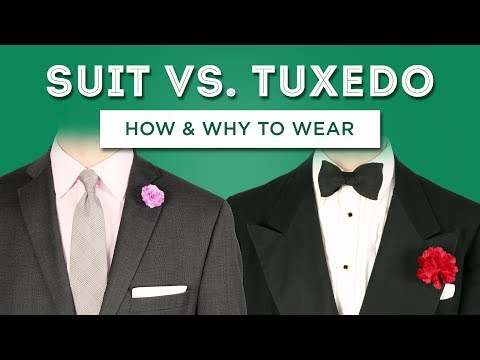 Suit Vs. Tuxedo: How To Wear & When To Buy - Key Menswear Differences