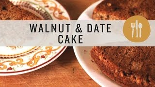 Walnut And Date Cake