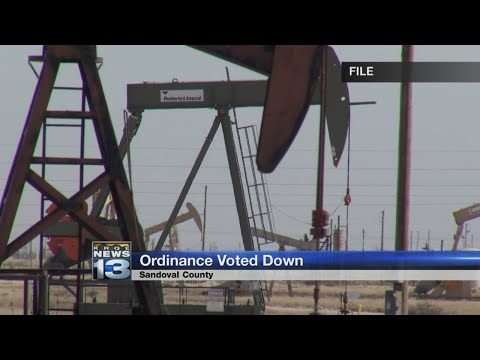 Sandoval County commission rejects energy drilling ordinance