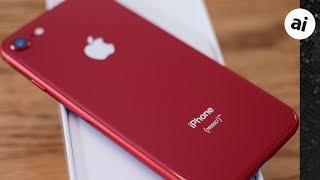 Hands-On: Apple Special Edition (PRODUCT)RED iPhone 8