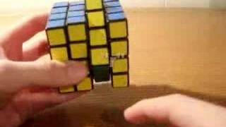 How to solve a 4x4x4 Rubik