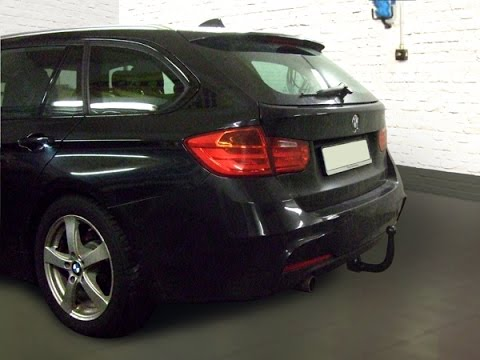 ahk bmw 3er touring f30 m paket abnehmbar 1144305 youtube. Black Bedroom Furniture Sets. Home Design Ideas