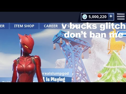 Dear Epic Games.. Please don't ban me, just fix this glitch in Fortnite.