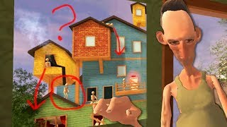 WHAT IS ANGRY NEIGHBOR UP TO WITH HIS MANNEQUIN ARMY?! | Hello Neighbor Mobile Ripoff
