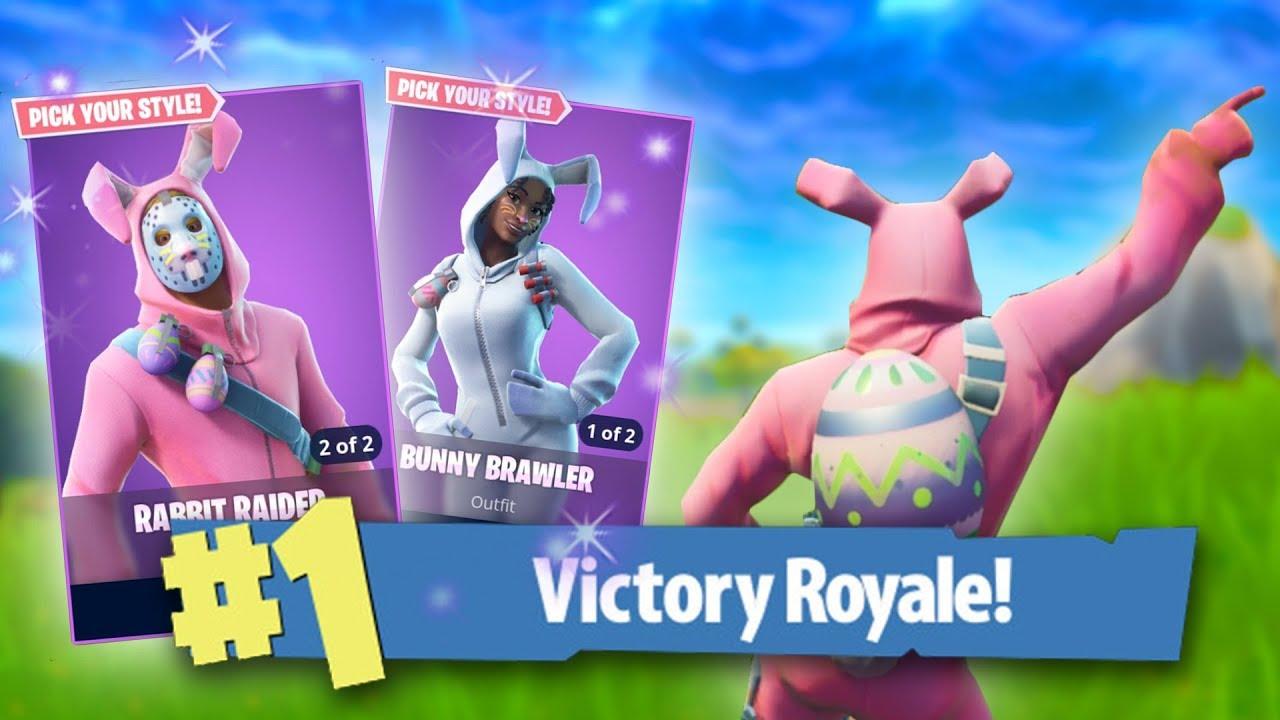 New jason rabbit raider bunny brawler skins fortnite battle royale youtube - Fortnite bunny brawler ...