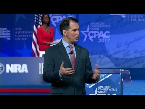 Walker to DeVos on protests: I've been there