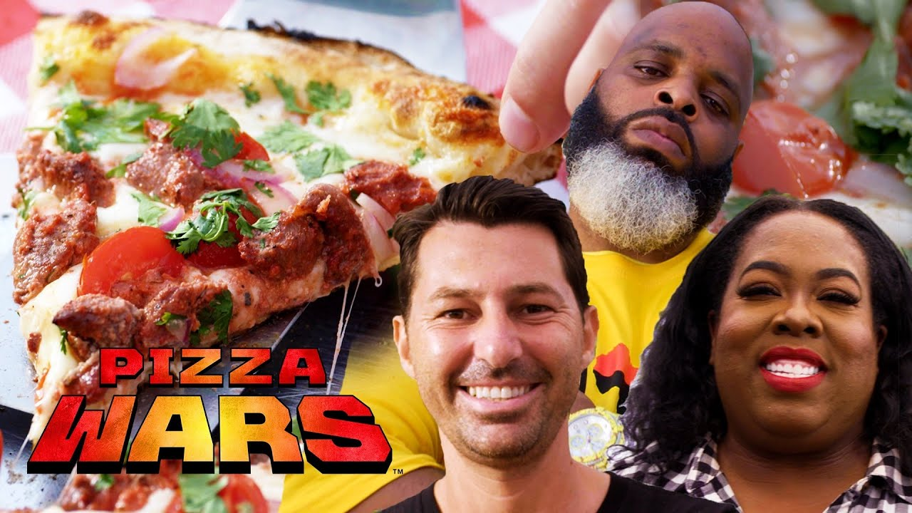Vito Iacopelli and Nicole Russell Make Neapolitan-Style Pizzas for Daym Drops | Pizza Wars