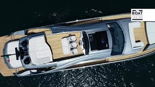 eNG PERSHING 8X - Yacht Review and Interiors - The Boat Show
