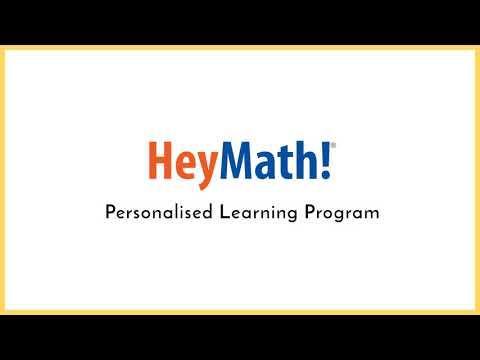 Bridge learning gaps through HeyMath! Personalised Learning Program (classes 3 to 10)