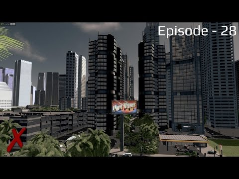"Cities Skylines - Noughbarn - (Episode 28) ""High Density Coastal District"""