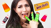 TRYING THE WORST HALLOWEEN CANDY
