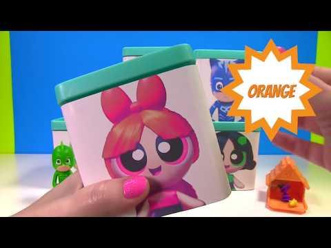 Power Puff Girls & PJ Masks Toy Surprise Blind Boxes   Fun