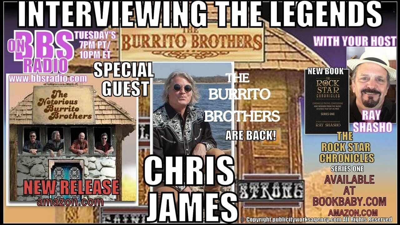 Chris James Revives The Burrito Brothers Legacy