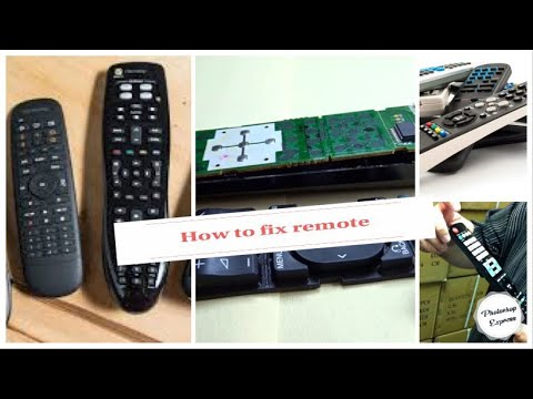 How To Repair Remote Control Buttons That Don't Work (2)