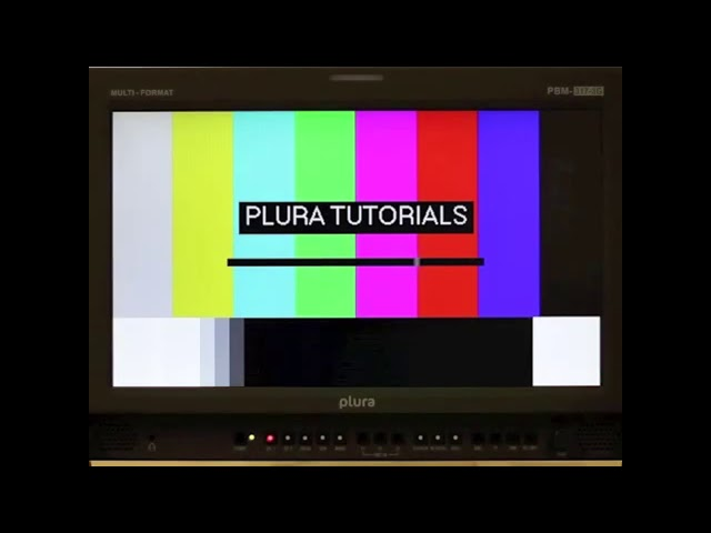 PLURA Tutorials: Factory Reset on a PBM Monitor