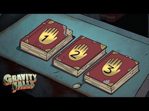 The Three Journals 📚 | Gravity Falls | Disney Channel