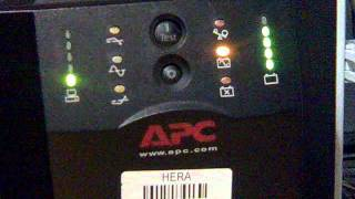 APC Smart-UPS 1500 on battery operation