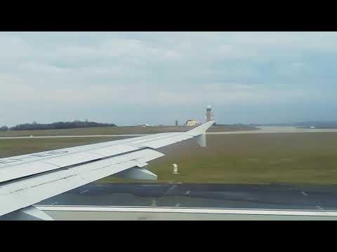 Budapest-Roma decollo