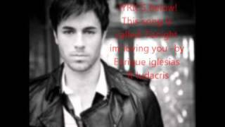 news!New Hit! 2011 TONIGHT IM LOVING YOU-ENRIQUE IGLESIAS FT LUDACRIS!