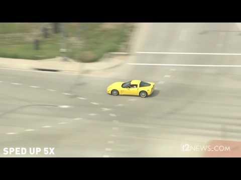 Murder, high-speed chase