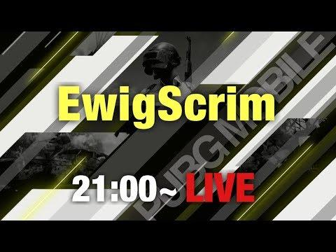 【PUBG MOBILE】EwigScrim Tier1 Phase4 Week4 Day2