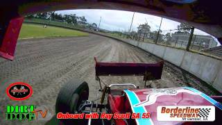 Borderline Speedway Practice day 30h Oct 2011 - Ray Scott Back behind the wheel