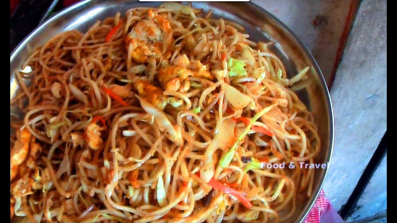 Egg noodles street food fast food in india youtube forumfinder Image collections