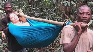 Injured Ashley Judd Rescued From Jungle on Hammock