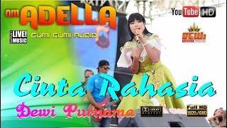 Gambar cover RAHASIA CINTA  Dewi Purnama ( Cover ) OM.ADELLA Teluk Wetan Jepara