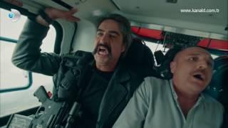 İsimsizler 13  Bölüm   Fatih ve Dayı'nın bulunduğu helikopter düşüyor!