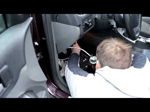Чистка кондея Ford Focus