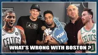 WHAT'S WRONG WITH BOSTON ? NBA First Day Show 56