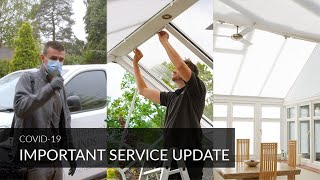 COVID-19 Service Announcement - Conservatory Blinds Limited