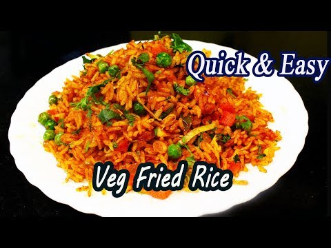Vegetable Fried Rice   Ankle Weight Challenge   Quick Rice Recipe   MadhurasRecipe   Ep - 621