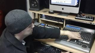 In the Matrix Recordings Studio tour 1