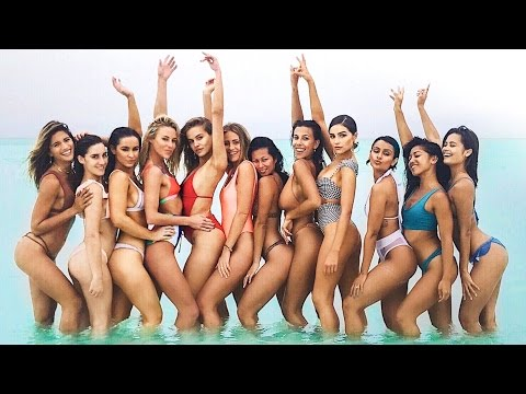 12 BIKINI MODELS, A YACHT AND A PRIVATE ISLAND! | VLOG² 19