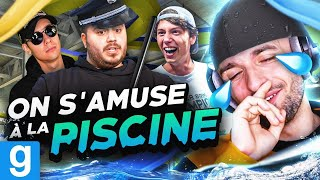 ON S'AMUSE À LA PISCINE ! 🏊‍♂️ (Cops & Runners ft. Locklear, Doigby, Gotaga, Mickalow, Kenny)