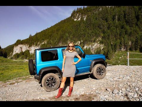 Suzuki JIMNY - Blondie Goes Off-roading, Unsupervised...