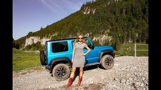 Suzuki JIMNY - blondie goes off-roading, unsupervised...