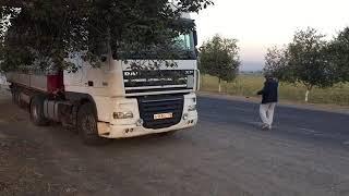 Дальнобой заехал в Узбекистан встретил Сканию с Ирана