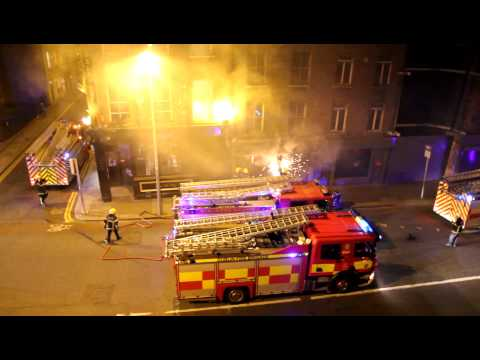 Fire in thomas street, dublin