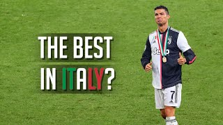 Cristiano Ronaldo is the BEST Player in Italy?!