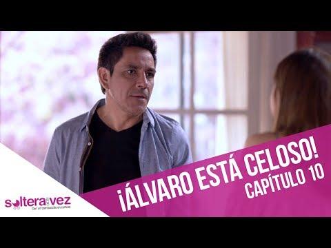 Álvaro está celoso de Pascuala   Soltera Otra Vez   Capítulo 10